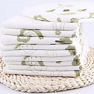 Bamboo Fiber Absorbent Cotton Gauze Children Towel (32 * 32)