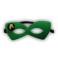 Girls / Boys Cartoon Hero / Halloween Mask, All Seasons Polyester Green