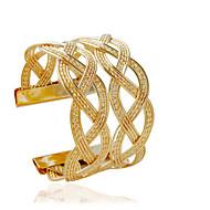 Armbanden Cuff armbanden Legering Buisvorm Modieus Sieraden Geschenk Gouden / Zilver,1 stuks