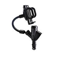 vozidle Dva USB vysoce výkonný vůz nabíjení podpory 2.1a mobilní telefon
