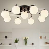 Takplafond ,  Moderne / Nutidig Rustikk Maleri Trekk for Mini Stil Metall Stue Soverom Spisestue Inngang