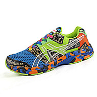 Unisex Sneakers Spring / Summer Comfort Tulle Casual Flat Heel Black / Blue / Green / Orange Walking