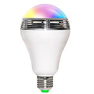 Jiaweb APP RGB LED Wireless Bluetooth Speaker Bulb Audio Speaker Music Playing & Lighting With APP E27