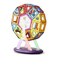 Legetøj Magnetiske puslespil 64Pcs Executive Legetøj Puzzle Cube DIY legetøj Magnetiske Balls Regnbue Uddannelse Legetøj For Gift