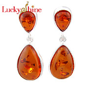 Earring Geometric Stud Earrings / Drop Earrings Jewelry Women Fashion Wedding / Party / Daily / Casual / Sports Crystal 1 pair Silver