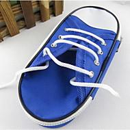 Yeni kalem kutusu kanvas ayakkabılar basit büyük kapasiteli kırtasiye çanta