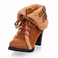 Women's Shoes Fall / Winter Platform / Riding Boots / Fashion Boots Boots Outdoor / Party & Evening / CasualChunky/168-9