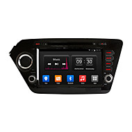 8 Inch 1024*600 In-Dash Car DVD Player GPS Navigation For kia k2 Rio 2011-2012 with Quad Core Android 4.4