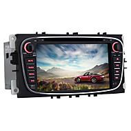 블루투스 무선 와이파이 미러 링크 2007 ~ 2011 포드 몬데오에 대한 쿼드 코어 7 인치 2 소음 안드로이드 5.1.1 자동차 DVD 플레이어
