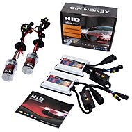 Set of AC 55W H7 HID Xenon Headlight Kit with SLIM Ballast 6000K