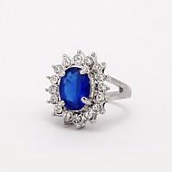 נשים טבעות הצהרה אופנתי זירקון סגסוגת תכשיטים עבור חתונה Party