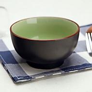 japonského vývozu otelením keramické misce