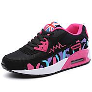 Damen-Sneaker-Outddor Sportlich-Tüll-Flacher Absatz-Komfort-Rosa Lila