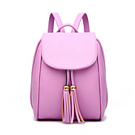 Women PU Casual  Outdoor Backpack
