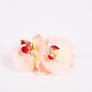 """פרחי חתונה תפור ביד ורדים זר פרחים לפרק כף יד חתונה חתונה/ אירוע פוליאסטר שיפון קצף 3.94""""(לערך.10ס""""מ)"""
