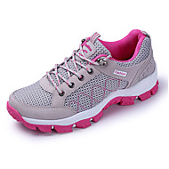 Women's Sneakers Spring Summer Fall Winter Comfort Tulle Athletic Flat Heel  Hiking