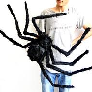 75 cm große Spinnenseide und Plüsch Halloween Requisiten Spinne Spaß Halloween-Party oder bar ktv dekorative Spielzeug