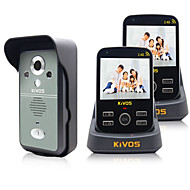 KiVOS KDB300 Wireless Visual Sensor Household Doorbell with Night Vision Surveillance Camera Call Unlock