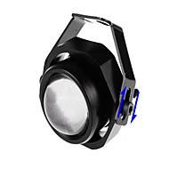 LED 자동차 조명 소 조명 10w 슈퍼 밝은 스트로브 조명 오토바이 호크 아이 램프 전환 각도 (8)
