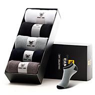 DOUBLE LIONS® Herren Baumwolle Socken 5 / box-MM0030
