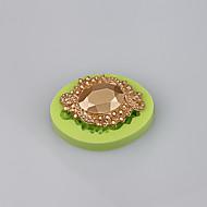 High quality jewelry diamond silicone fondant cake decorating mould  baking tools