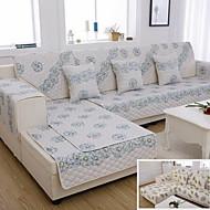 50 * 50 nye design dobbeltsidet børstet stof sofa pude diamant fløjlspude (tilfældigt mønster)