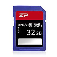 ZP 32GB Classe 10 SD/SDHC/SDXCMax Read Speed80 (MB/S)Max Write Speed20 (MB/S)