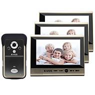 Kivos kdb700 беспроводной визуальный дверной звонок бытовая штепсельная вилка в электрическом замке мониторинга камеры
