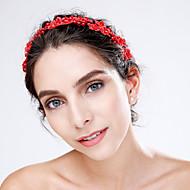 Damen Spitzen / Acryl Kopfschmuck-Hochzeit / Besondere Anlässe Blumen 1 Stück