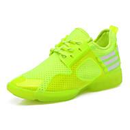 Na míru-Dámské-Taneční boty-Taneční tenisky-Koženka-Rovná podrážka-Zelená / Červená / Bílá
