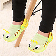 Unisex Sandals Summer Sandals / Round Toe PVC Casual Flat Heel Animal Print Blue / Green / Pink / Orange Others