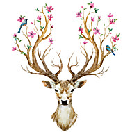 Sika Deer DIY Wall Stickers Wall Decor Art Decals For Kids Rooms Bedroom Living Room European Style  Unique
