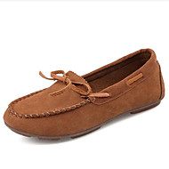 Women's Flats Spring / Summer / Fall / Winter Comfort Fleece Office & Career / Casual Flat Heel Bowknot Others