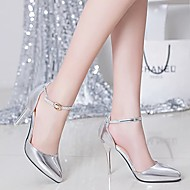 Women's Heels Summer Comfort Microfibre Dress Stiletto Heel Others Silver / Gold Others