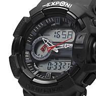 EXPONI 3227 Men's Fashion Sports Waterproof Shockproof LED Quartz Digital Military Watch