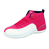 Unisex Athletic Shoes Spring / Fall Comfort PU Casual Flat Heel  Black / Blue / Red / Black and Red Basketball