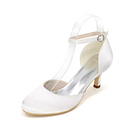 Women's Heels Spring / Summer / Fall Heels / Round Toe Silk Wedding / Party & Evening