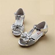 Sandály-PUDívčí-Růžová / Stříbrná / Zlatá-Outdoor / Běžné-Plochá podrážka