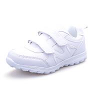 Unisex-Sneakers-Tempo libero / Casual / Sportivo-Comoda-Piatto-Di pelle-Bianco