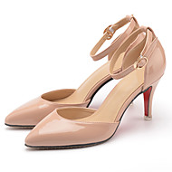 Women's Sandals Summer Heels / Sandals / Pointed Toe Patent Leather Office & Career / Dress / Casual Stiletto Heel