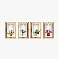 3D Wall Stickers Wall Decals Style HD Vase PVC Wall Stickers