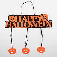 halloween pověšen ozdobit dveře dekorace oken slovo šťastný dýně přívěsek ve tvaru