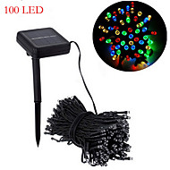 Solar Christmas Lights White Lights29ft 100 LED Waterproof Solar Light String Outdoor for Gardens,Wedding,Christmas tree