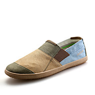 Women's Loafers & Slip-Ons Fall Comfort Canvas Casual Flat Heel Others Brown Red Gray Others