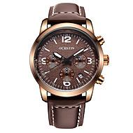 OCHSTIN  Men's Multi-function Sport Wrist Watches Genuine Leather Strap Watch Fashion Casual Luminous Calendar relogio