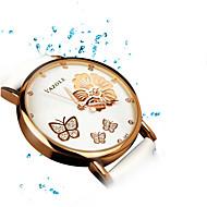 343 YAZOLE Fashion Women's Business Dress Watch Leather Strap Blue Ray Glass Analog Quartz Wrist Watches