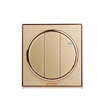 painel de ouro ao soquete de parede doméstico