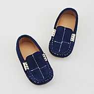Boy's Loafers & Slip-Ons Spring / Summer / Fall Closed Toe Suede Outdoor Flat Heel Others Blue Others