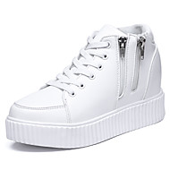 Women's Sneakers Spring /  Platform / Creepers / Round Toe Leatherette Outdoor /  Career / Casual Wedge Heel