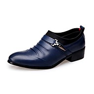 Westland's Men's Oxfords Comfort Leather Party & Evening / Casual / Hot Sales/ Ruched Black / Blue